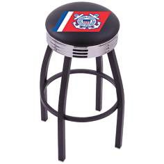 Retro United States Coast Guard Barstool