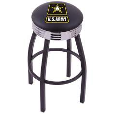 Retro United States Army Barstool