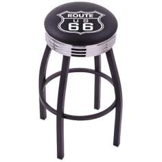 Retro Route 66 Barstool