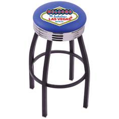 Welcome to Las Vegas Retro Counter Stool