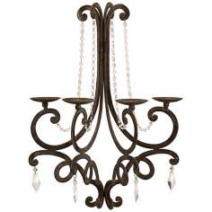 Traditional Harmony Chandelier Wall Sconce Candle Holder