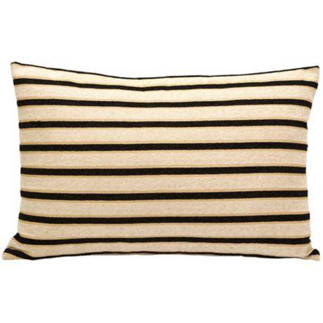 "Theissen Stripe 24"" Wide Oblong Pillow"