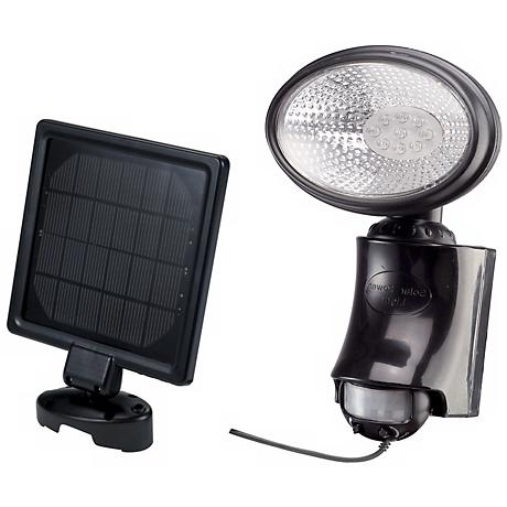 9-LED Solar Motion Sensor Security Light