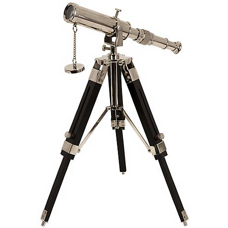 Voyager Wood Stand Tabletop Telescope
