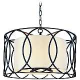 "Sausalito 25"" Wide Deep Bronze Pendant Light"