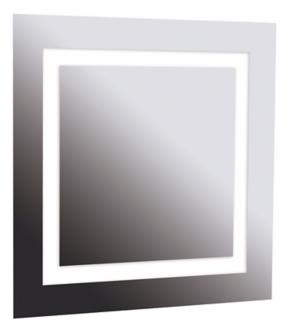 "Destiny 28"" Square 4-Light Vanity Mirror (U0309)"
