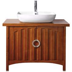 "Kent Chestnut 39"" Wide Sink Bath Vanity"