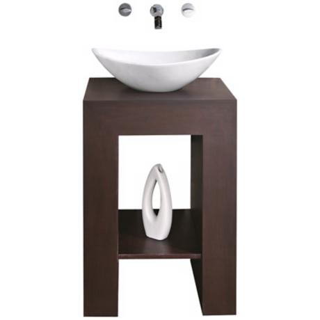 "Prado Dark Walnut 22"" Wide Bath Vanity"