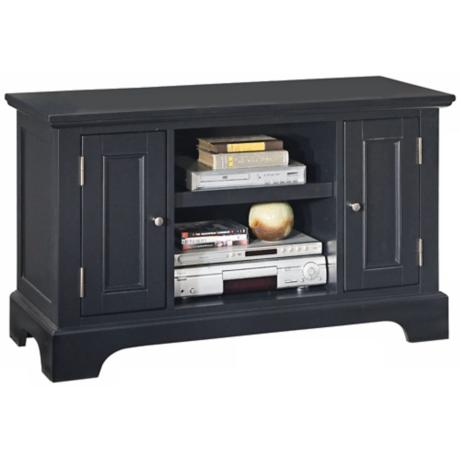 Bedford Ebony TV Entertainment Stand