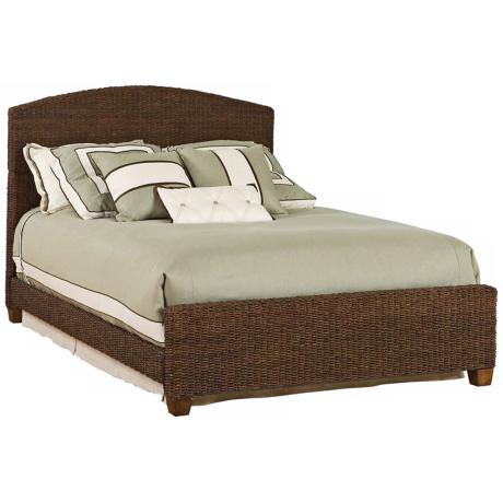 Cabana Banana Cocoa Finish Bed Set (Queen)