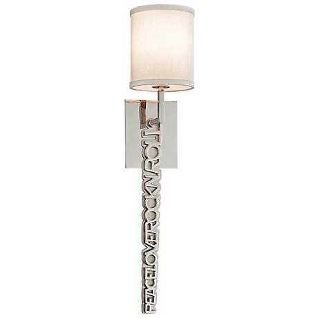 "Corbett Alter Ego Collection 26"" High Wall Sconce"