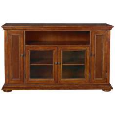 Homestead Warm Oak Entertainment Credenza