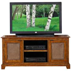 Jamaican Bay Mahogany Entertainment Stand