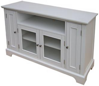 Naples White Entertainment Credenza (U0525)