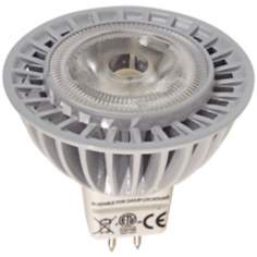 Dimmable Indoor-Outdoor 6 Watt LED MR16 36° Flood Bulb