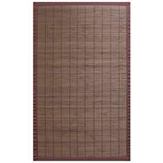 Hilltop Collection Coffee Area Rug