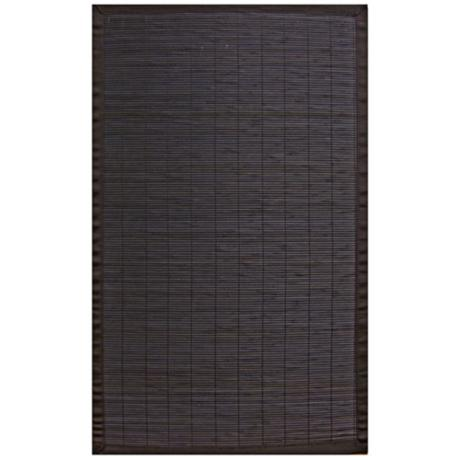 Hilltop Collection Ebony Area Rug