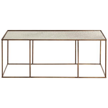 Arteriors Home Othello Antique Mirror Top Coffee Table