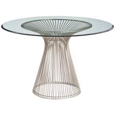 Arteriors Home Nova Bouquet Iron/Beveled Glass Entry Table