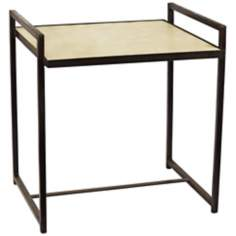 Steel Vellum Large Side Table