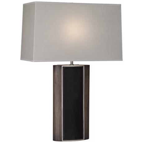 Robert Abbey Emile Black Walnut Finish Table Lamp