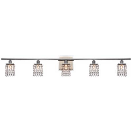 Sparkle Collection 5-Light Crystal Bathroom Fixture