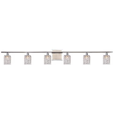 Sparkle Collection 6-Light Crystal Bathroom Fixture