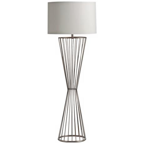 Arteriors Home Norah Brushed Nickel Floor Lamp