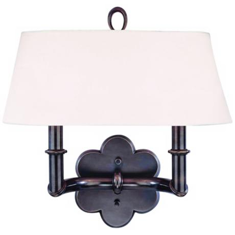Hudson Valley Pomona Old Bronze 2-Light Wall Sconce
