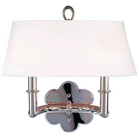 Hudson Valley Pomona Polished Nickel 2-Light Wall Sconce
