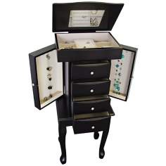 Mele & Co. Racquel Java Armoire Jewelry Box