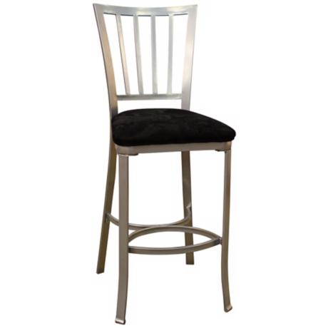 "American Heritage Alexa Set of Two 30"" High Metal Bar Stools"