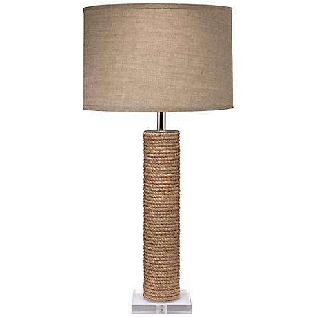 Jamie Young Cylinder Jute Table Lamp