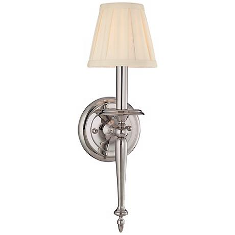 Hudson Valley Jefferson Polished Nickel Wall Sconce