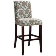 "Kate Slipcovered Monroe Parsons 26"" Counter Height Chair"