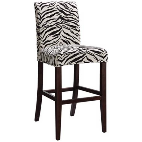 "Marisa Slipcovered Monroe Parsons 26"" High Counter Stool"