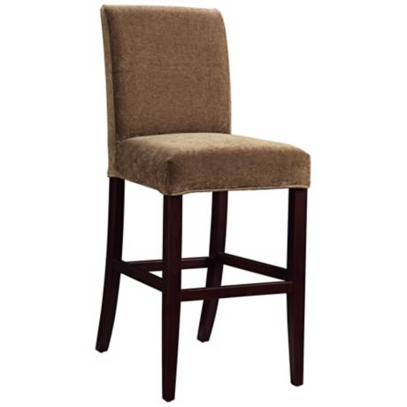 "Annaleigh Slipcovered Monroe Parsons 30"" High Barstool"