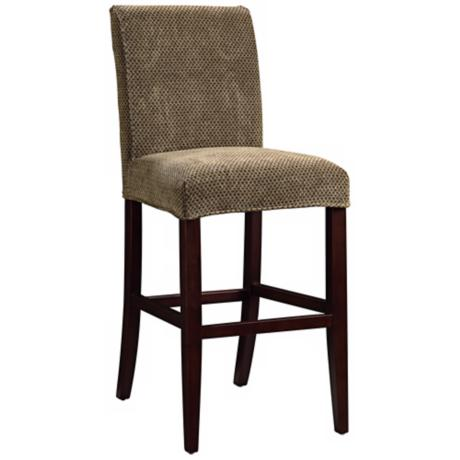 "Beth Slipcovered Monroe Parsons 30"" High Barstool"