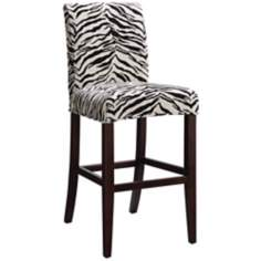 "Marisa Slicovered Monroe Parsons 30"" High Barstool"