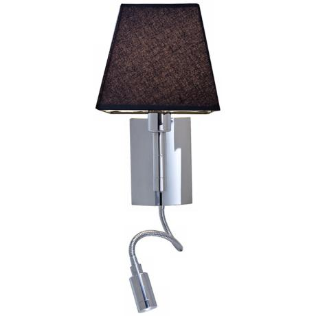 Cyprus Gooseneck Chrome Plug-In Wall Light