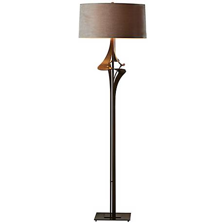Hubbardton Forge Antasia with Eclipse Shade Floor Lamp