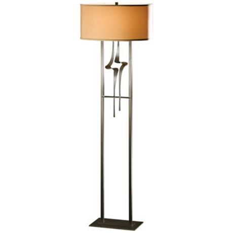 Hubbardton Forge Antasia with Doeskin Shade Floor Lamp