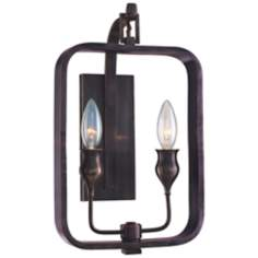 Hudson Valley Rumsford Old Bronze ADA Compliant Wall Sconce