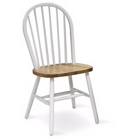 "Windsor White Spindle Back 37"" High Chair"