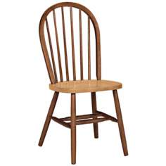 Windsor Cinnamon Espresso Wood Dining Chair