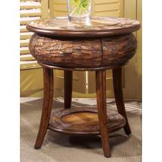 Designer's Edge Round End Table