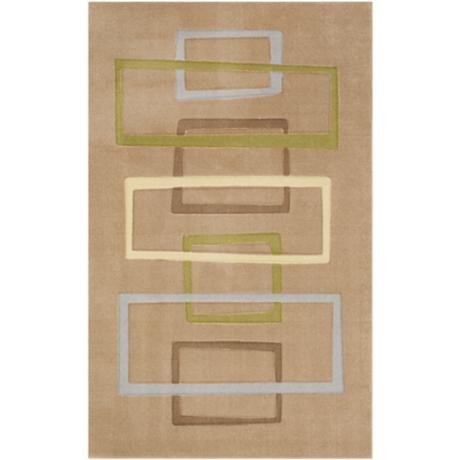 Cicero Collection Putty Area Rug