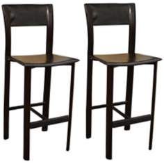 "American Heritage Alto Set of Two 26"" High Counter Stools"
