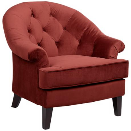 Xian Berry Upholstered Armchair
