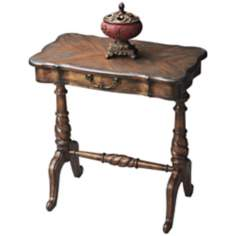 Dusty Trail Rectangular Wood Accent Table